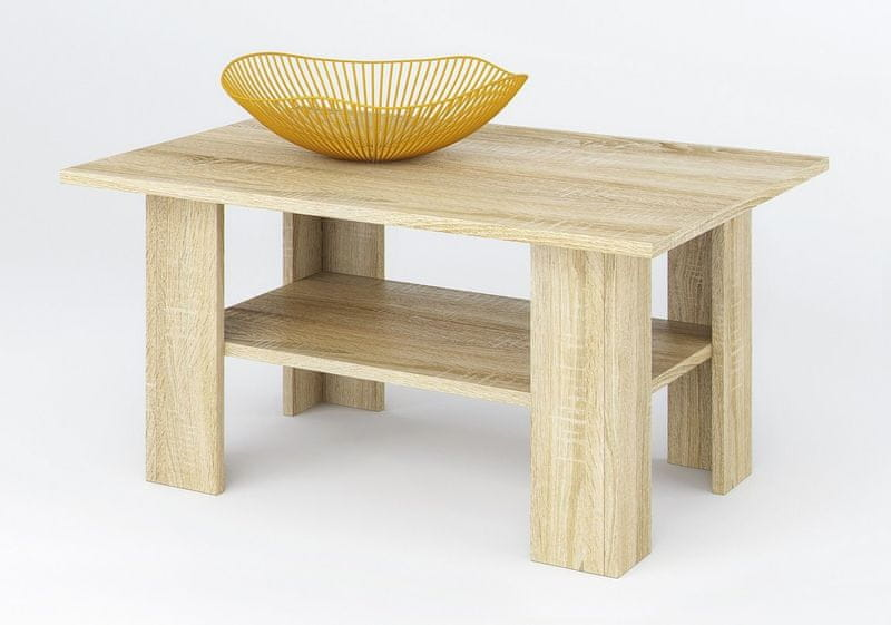 SONO II konferenční stolek, dub sonoma