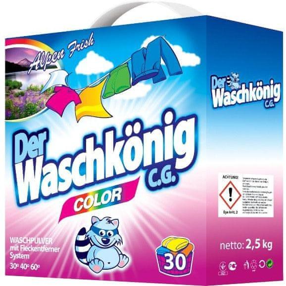 Waschkonig Prášek na praní Color 2,5 kg (30 praní)