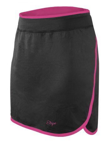Etape spódniczka damska Laura czarna/różowa XL