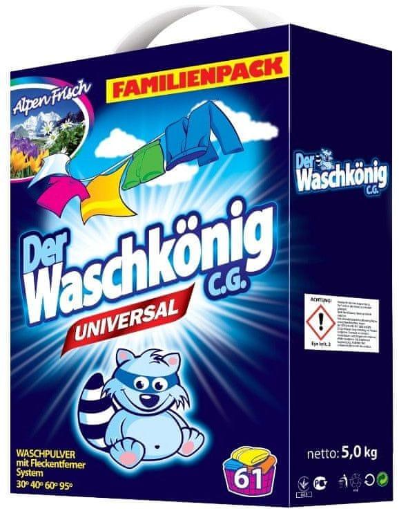 Waschkonig Universal prací prášek 5 kg (61 praní)