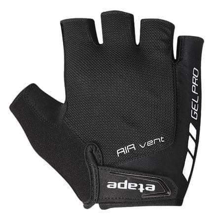 Etape rękawiczki rowerowe męskie, czarne  L