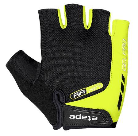 Etape rękawiczki rowerowe męskie, żółte fluo L