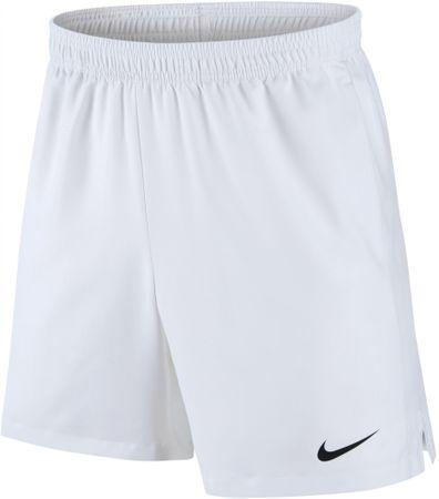 Nike moške tenis kratke hlače M NKCT Dry Short 7In White Black, bele, XL