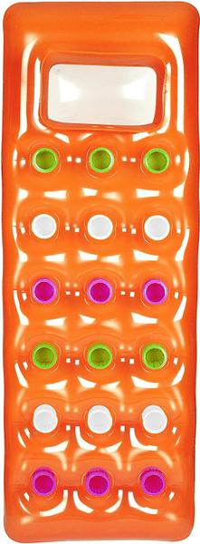 Bestway Nafukovací matrace s průzorem oranžová