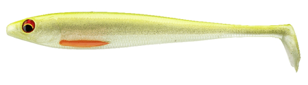 Daiwa Gumová Nástraha Prorex Duckfin Shad XL Ghost Lime 25 cm