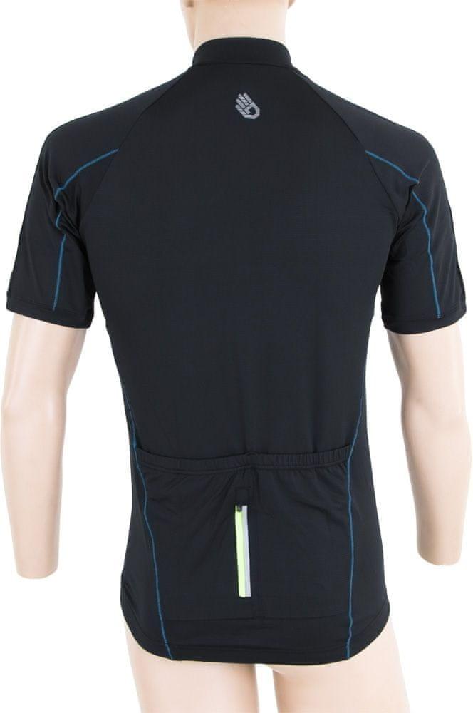 Sensor Entry pánský dres kr.ruk. černá -M