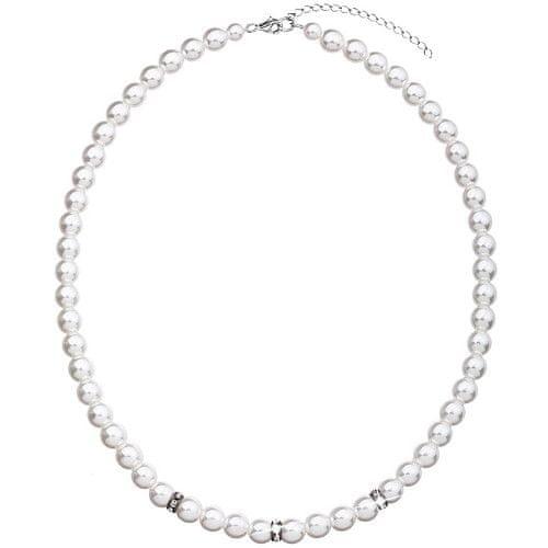 4cbf77524 Evolution Group Perlový náhrdelník 32012.1 bílá stříbro 925/1000