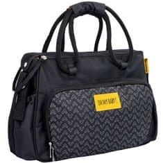 Badabulle previjalna torba BOHO Black, črna