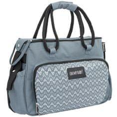 Badabulle previjalna torba BOHO Grey, siva