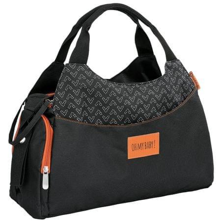 Badabulle torba do przewijania MULTIPOCKET Black