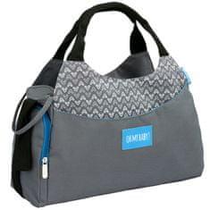 Badabulle previjalna torba Multipocket, siva