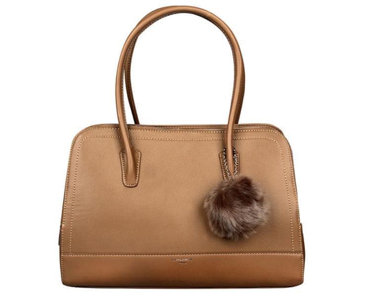 David Jones Dámská elegantní kabelka Khaki CM3562