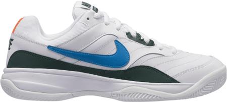 Nike moška obutev Court Lite Clay Tennis Shoe, White Neo Turq-Blue Force-Hyper Crimson, 46