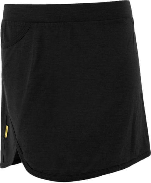 Sensor Merino Wool Active dámská sukně černá XL