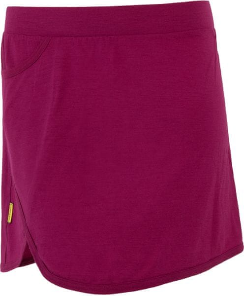 Sensor Merino Wool Active dámská sukně lilla S