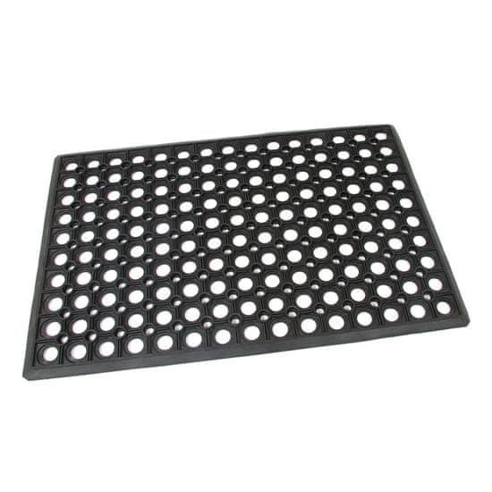 FLOMA Gumová vstupní čistící rohož Honeycomb - Edge - 60 x 40 x 1,5 cm