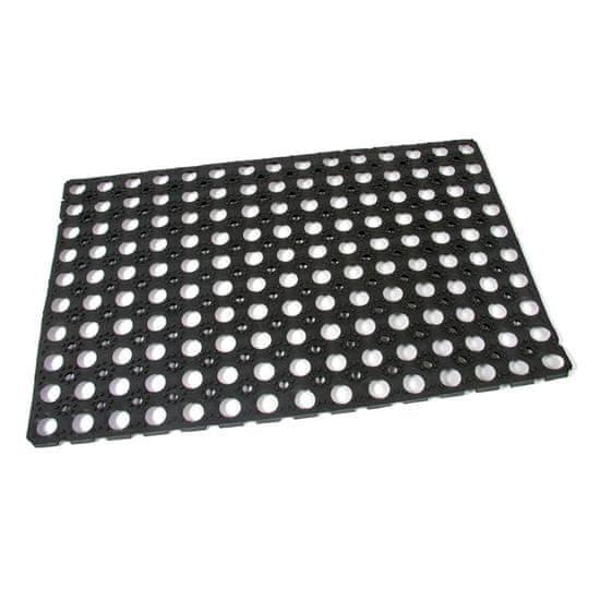 FLOMA Gumová vstupní čistící rohož Honeycomb - 60 x 40 x 1,6 cm