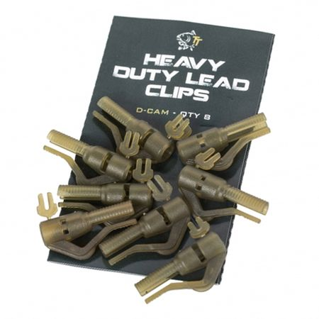 Nash Závěs Na Olovo Heavy Duty Lead Clip 8ks