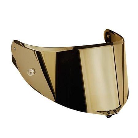 AGV plexi  RACE 3, zrcadlová zlatá - pro přilby  PISTA GP R, CORSA R