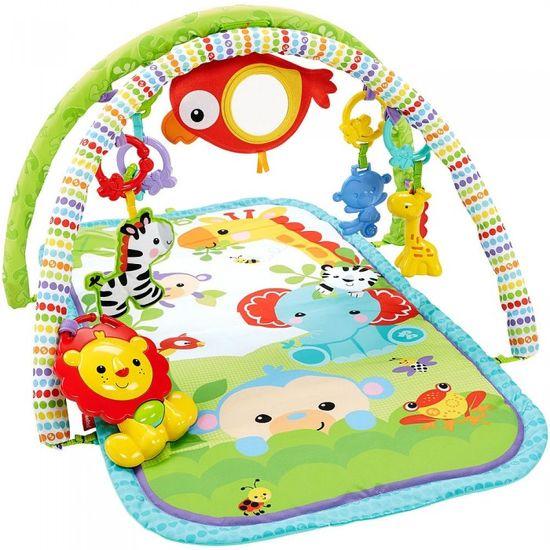 Fisher-Price Hrazdička pro aktivní dítě 3v1 rainforest