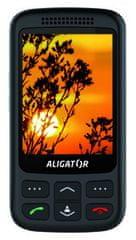 Aligator VS900 Senior, černý - zánovní