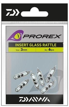 Daiwa Prorex Rolničky Sklenené Do Gumy 7 mm