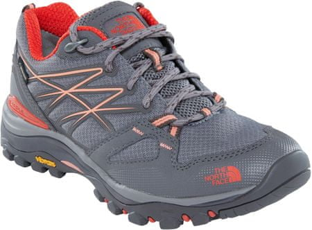 The North Face W Hedgehog Fastpack Gtx (Eu) Q-Silver Grey/Desert Flower Orange 38
