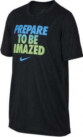 Nike koszulka B NK Dry Leg Tee To Be Amazed Black S