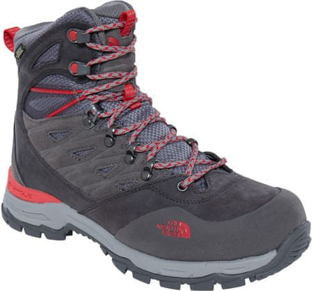 The North Face buty trekkingowe W Hedgehog Trek Gtx Dark Gull Grey/Melon Red 39.5