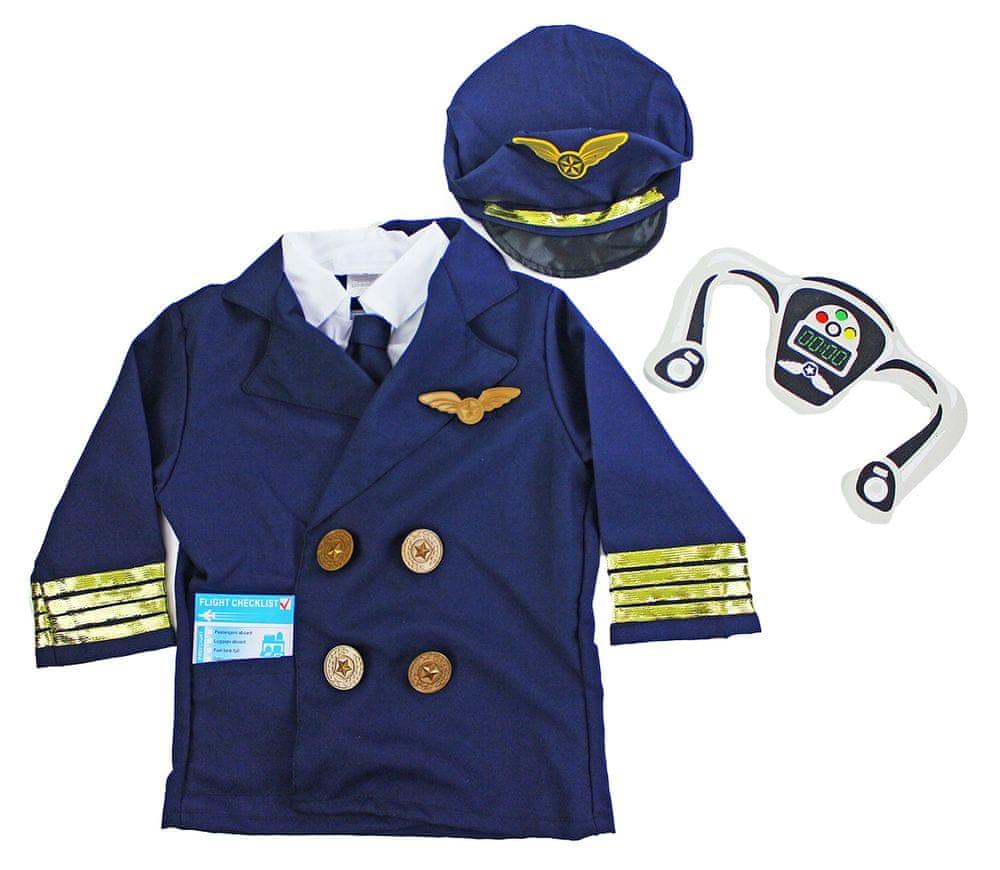 Rappa Kostým pilot vel. S
