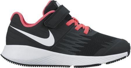 Nike buty do biegania Star Runner Psv Pre-School Shoe Black White-Volt-Racer Pink 29,5