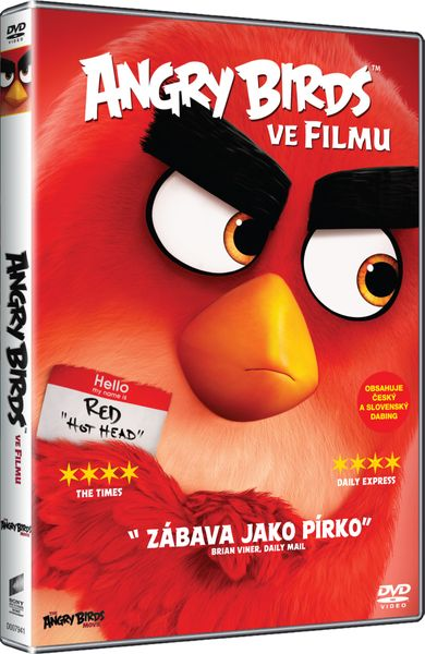 Angry Birds ve filmu - DVD