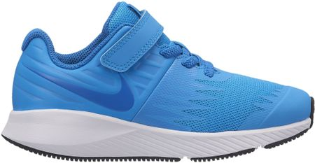 Nike buty do biegania Star Runner PS Pre-School Shoe Equator Blue Nebula-Black-White 29,5