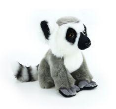 Rappa Plyšový lemur sedící, 18 cm