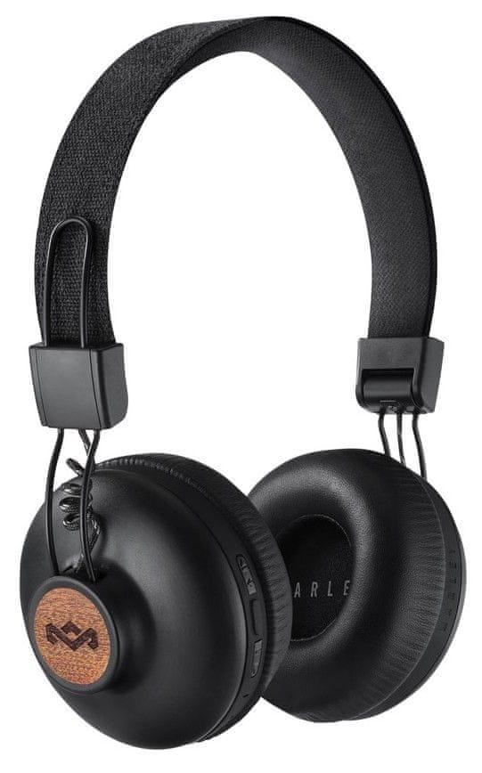 MARLEY Positive Vibration 2.0 BT bezdrátová sluchátka, černá