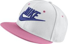 Nike otroška kapa Y NK True Cap Futura, White Coral Chalk Black Rush Violet