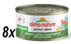 Almo Nature konserwa HFC CAT, Pacyfikowy tuńczyk, 8 x 70g