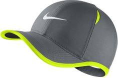 Nike Y NK Arobill Fthrlt Cap Cool Grey Volt White