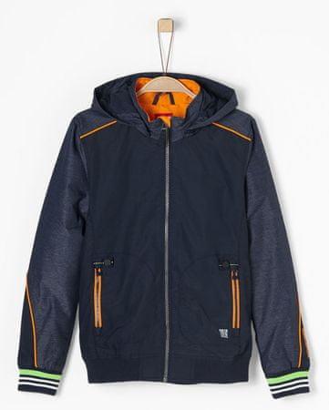 48e738e227 s.Oliver fiú kabát L kék | MALL.HU