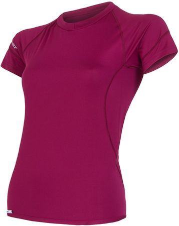 Sensor ženska majica kratkih rukava Coolmax Fresh PT , M, lila