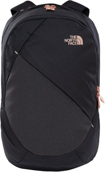 The North Face W Isabella Tnf Black Heather/Burnt Coral Metallic