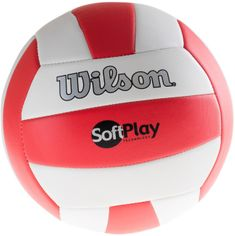 Wilson Soft Play Red/White