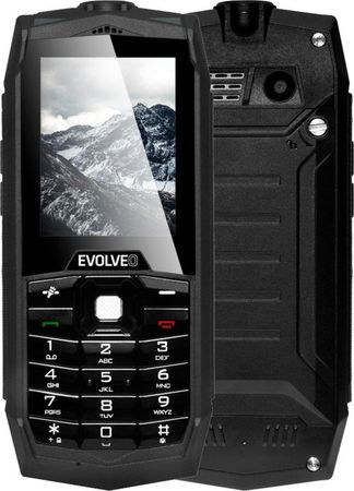 Evolveo StrongPhone Z1, vízálló, tartós, Dual SIM telefon