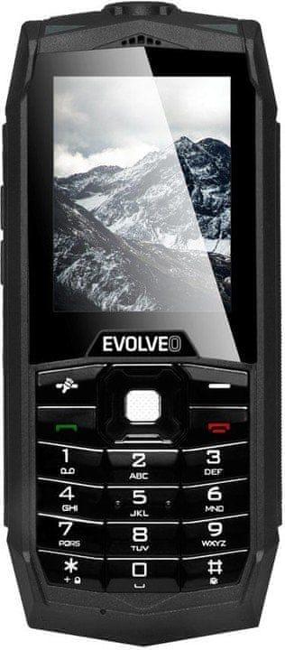 Evolveo StrongPhone Z1, Dual SIM, černý