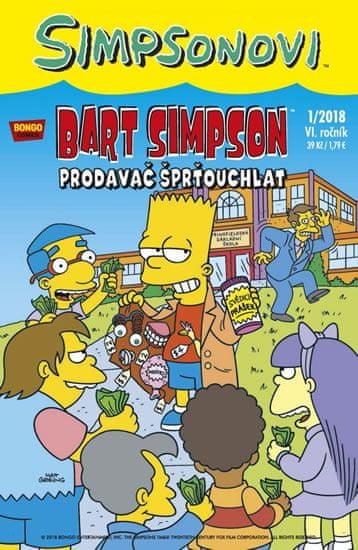 Groening Matt: Simpsonovi - Bart Simpson 1/2018 - Prodavač šprťouchlat