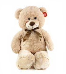 Rappa Veľký plyšový medveď Bono 80 cm svetlý