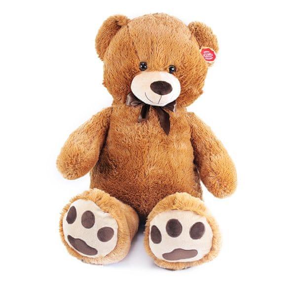 Rappa Plyšový medvěd Kuba 100 cm, hnědý