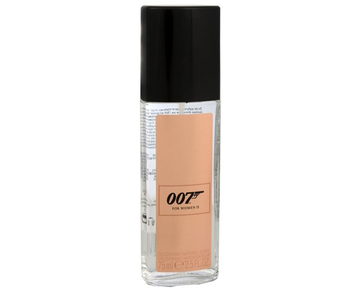 James Bond James Bond 007 For Women II - deodorant s rozprašovačem 75 ml