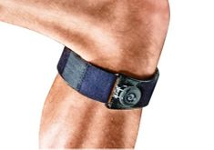 Futuro nastavljiv trak za koleno, črn