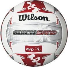 Wilson žoga za odbojko Avp Quicksand Aloha, rdeča/siva/bela